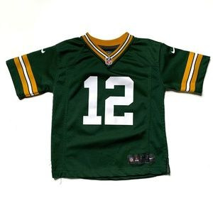 Kid's Green Bay Packers Aaron Rodgers Jersey 5/6